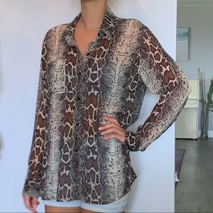 NWOT 100% silk blouse